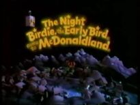 Night Birdie came to McDonaldland