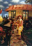 Ronald McDonald & Hamburglar