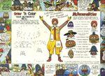 McDonaldland Coloring Tray