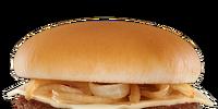 Grilled Onion Cheddar Burger