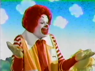 Ronald exclaims