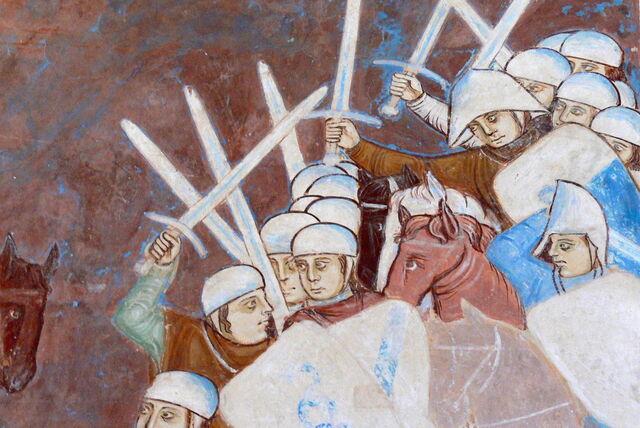 File:Rocca di Angera - Sala di Giustizia Fresco Visconti 2.jpg