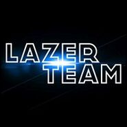 Lazer Team Logo at Announcement