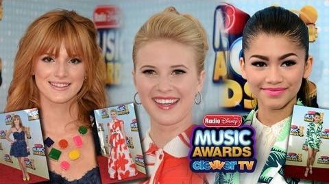 Zendaya, Bella Thorne & Caroline Sunshine Best Dressed at Radio Disney Music Awards 2013-0