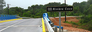Pont sur la Rivière Coco