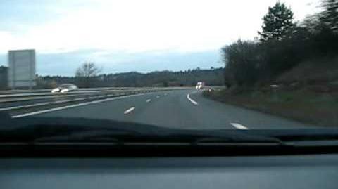Autoroute A 20 dans le Limousin (France - Highway A20 in Limousin).