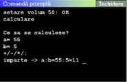 Pan3 command prompt