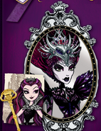 The Evil Queen book art
