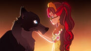 Music Video - Rosabella befriends a wolf
