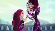 DG HTG - Raven and Evil Queen together