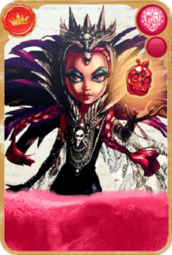 Raven Queen, the Evil Queen Card