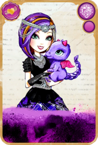 Poppy O'Hair Dragon Games Card