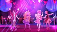 True Hearts day - blondie cupid dancefloor