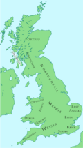 British kingdoms c. 800