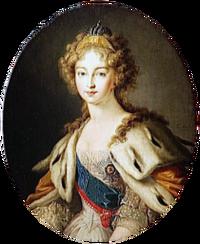 Elizabeth Alexeievna in 1814