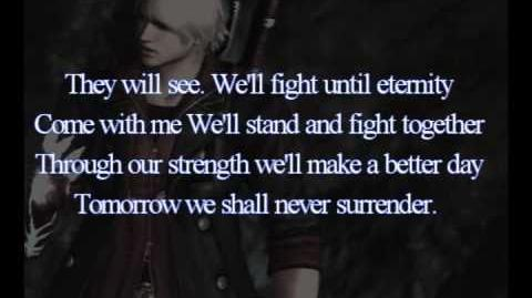 Devil May Cry 4 Theme - Shall Never Surrender Lyrics Free MP3 Download