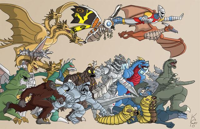 File:Godzilla Monsters Attack .jpg