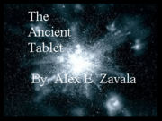 The Ancient Tablet