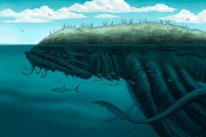 The island of the kraken