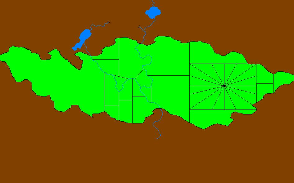 Ëo valley map