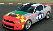 Mustang-cut