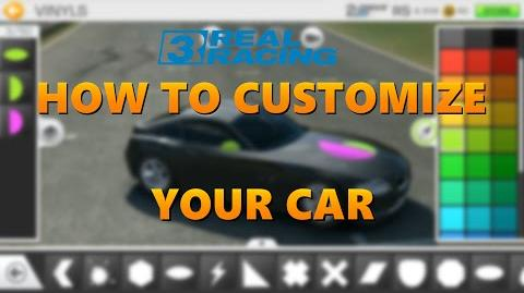 HOW TO CUSTOMIZE YOUR CAR IN REAL RACING 3?