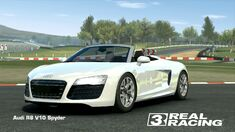 Showcase Audi R8 V10 Spyder
