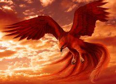 Large Red eagle