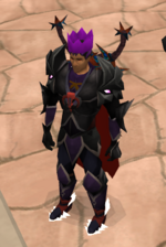 Mezelluf Purple Partyhat