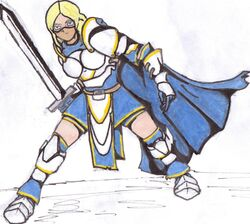 Runescape rp characters hayley k spears by mrfreddiec-d5cu7p3