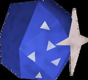 Carved crystal shard