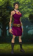 Rachel in purple