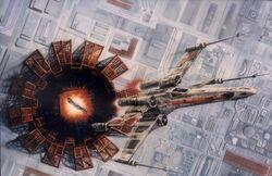 Wedges X-wing DeathStarII