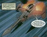 Jedi Starfighter fightmodus