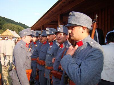 Austro-German troops