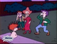 Rugrats - Chuckie Gets Skunked 90