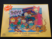 Rugrats Turn the House Upside Down Board Game