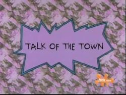 Talk Of The Town Title Card