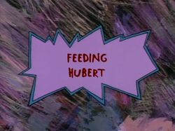 Rugrats - Feeding Hubert