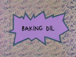 Rugrats - Baking Dil