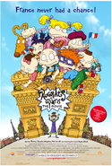 Rugrats In Paris Vhs And Dvd Poster