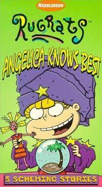 Angelica Knows Best VHS