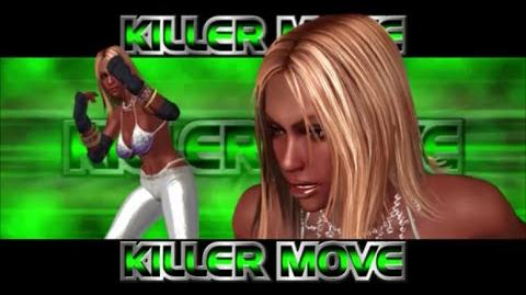 Rumble Roses XX - Aisha Killer Move (Ultimate Elbow Crash)