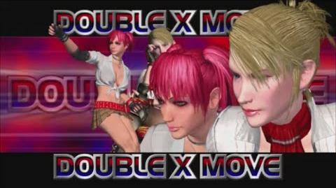 Rumble Roses XX - Double X Move (School Wars)