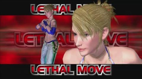 Rumble Roses XX - SS Miss Spencer Lethal Move (Special Lesson)