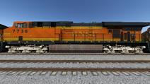 Run8 ES44DC BNSF