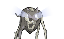 SHABBY WOLF HUSK