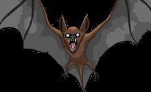 GIANT OVERWHELMED BAT