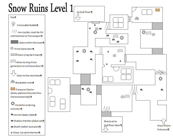 File:Snow Ruins Level 1 Map.png