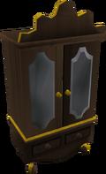 Gilded wardrobe detail
